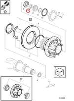 PORCA - Volvo - 1076335 - Unitário