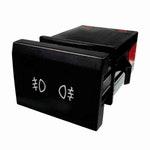 Chave Comutadora Luz para Farol Neblina e Lanterna Traseira Audi/Vw 5Z0941535G1Qb-6 Terminais 12V - DNI - DNI 2179 - Unitário