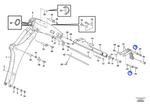 Pino da Lança da Escavadeira - Volvo CE - 15623968 - Unitário