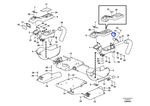 Clipe do Painel de Instrumentos - Volvo CE - 14508322 - Unitário