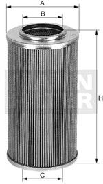 Elemento Filtrante do Óleo Hidráulico - Mann-Filter - H723 - Unitário