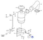 Abraçadeira - Volvo CE - 11410207 - Unitário