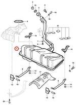 Tanque de Combustível - Original Chevrolet - 93362669 - Unitário