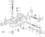 Válvula da Caixa do Filtro de Óleo - Volvo CE - 3169687 - Unitário