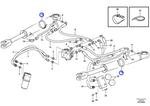 Abraçadeira da Mangueira - Volvo CE - 15175716 - Unitário