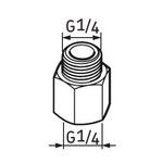 Pino graxeiro G1/4 – G1/4 - SKF - LAPN 1/4 - Unitário
