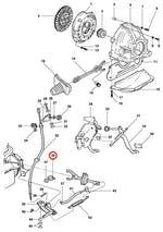 Articulador do tirante da embreagem - Original Chevrolet - 93270941 - Unitário