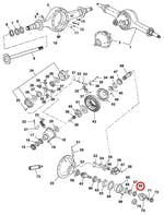 RETENTOR PINHAO DIFERENCIAL EATON GMC - Original Chevrolet - 15665326 - Unitário