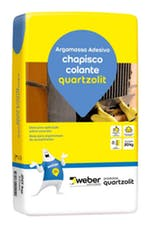 Argamassa Chapisco Colante Cinza 20Kg - Quartzolit - 0030.00001.0020PL - Unitário