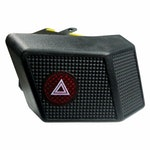 Interruptor de Pisca Alerta Emergência Vw/Audi 3079532351 - Chave Comutadora - DNI - DNI 2153 - Unitário