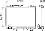 Radiador de Resfriamento - Valeo - 734144R - Unitário
