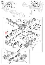 Vedador do óleo do semi-eixo traseiro - Original Chevrolet - 93220057 - Unitário