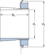 Bucha de fixação - SKF - H 317 - Unitário