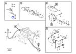 Suporte das Mangueiras do Sistema Hidráulico - Volvo CE - 14577657 - Unitário