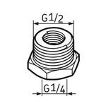 Pino graxeiro G1/4 – G1/2 - SKF - LAPN 1/2 - Unitário