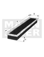 Filtro de Ar - Mann-Filter - C4151 - Unitário
