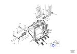 Retentor - Volvo CE - 14540731 - Unitário