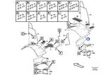 Suporte para Fixação do Pára Barro - Volvo CE - 15126998 - Unitário