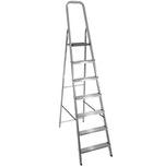 Escada de 7 Degraus Anodizado Brilhante - Prado Alumínio - ES.00.00.0007 - Unitário