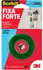 Fita Dupla Face 3M Scotch® Fixa Forte 19mm x 2m - 3M - HB004419881 - Unitário