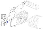 Tubo do Separador de Óleo - Volvo CE - 20799590 - Unitário