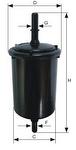 Filtro Blindado do Combustível - Purolator - F1044 - Unitário