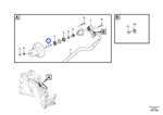 Eixo do Sistema Hidráulico - Volvo CE - 15164240 - Unitário