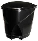 Lixeira Ecológica com Pedal Preta 16L - Astra - LP1*PR1 - Unitário