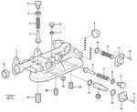 Válvula de Resfriamento da Caixa do Filtro de Óleo - Volvo CE - 1546305 - Unitário