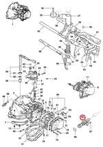 Sensor de Velocidade da Engrenagem Movida do Velocimetro No Cambio 13 Dentes - Original Chevrolet - 90375764 - Unitário