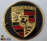 Emblema Redondo Porsche - Matrix Cobra - GL-066 - Unitário