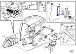 Interruptor do Ventilador do Ar Condicinado - Volvo CE - 15092308 - Unitário