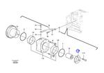 Arruela Trava - Volvo CE - 20450811 - Unitário