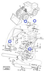 Mangueira Completa - Volvo CE - 13933014 - Unitário