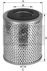 Filtro de Óleo do Sistema Hidráulico - Mann-Filter - H1033/3 - Unitário