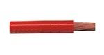 Cabo Flex Cristal Vermelho Para Som Profissional - Rolo 50M - DNI - DNI HFX 600-CC-50 - Unitário