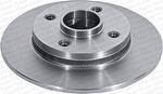 Disco de Freio Sólido com Cubo - Hipper Freios - HF 751 - Par