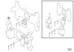 Placa de Montagem - Volvo CE - 43857457 - Unitário