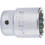 """Soquetes de Encaixe 1"""" com Perfil Estriados de 60mm - Belzer - 235006BR - Unitário"""