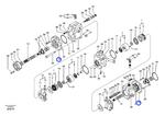 Suporte da Bomba do Sistema Hidráulico - Volvo CE - 8230-32180 - Unitário