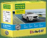KIT Original MANN-FILTER - GM Onix (2012-2019) e GM Prisma (2013-2019) - Mann-Filter - SP1060-4 - Kit