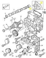 Caixa de Distribuição de Engrenagens - PERKINS - 3716C522 - Unitário