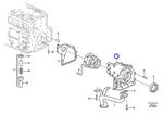 Carcaça da Bomba de Óleo - Volvo CE - 21600207 - Unitário