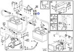 Cabo da Bateria - Volvo CE - 11171294 - Unitário