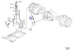 Apoio de Mola do Freio de Estacionamento - Volvo CE - 11888926 - Unitário