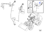Interruptor - Volvo CE - 11809129 - Unitário