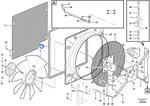Friso de Vedação - Volvo CE - 12750364 - Unitário