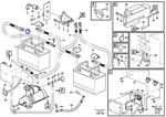 Cabo da Bateria - Volvo CE - 11171299 - Unitário