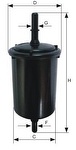 Filtro Blindado do Combustível - Purolator - F1051 - Unitário