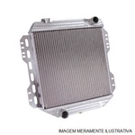 Radiador de Água - Equipado ou não com Ar Condicionado - Alumínio Mecânico - Notus - NT-7114.523 - Unitário